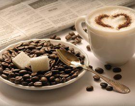 Kafeja dhe çaji jeshil