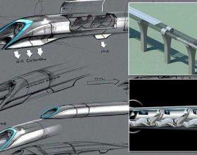 """""""Hyperloop"""", kapsula për udhëtarë me shpejtësinë e zërit"""