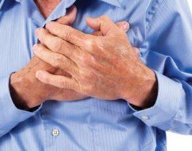 Sulmi kardiak, ja simptomat