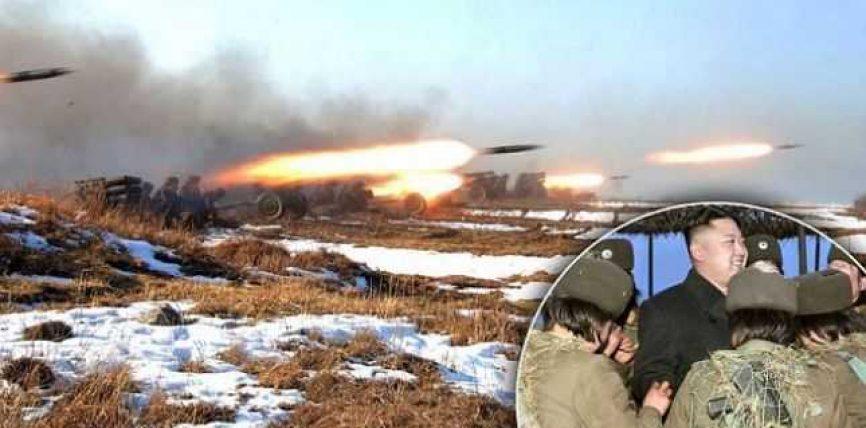 Koreja e veriut pregaditet të sulomojë bazat ushtarake amerikane dhe Shba-në