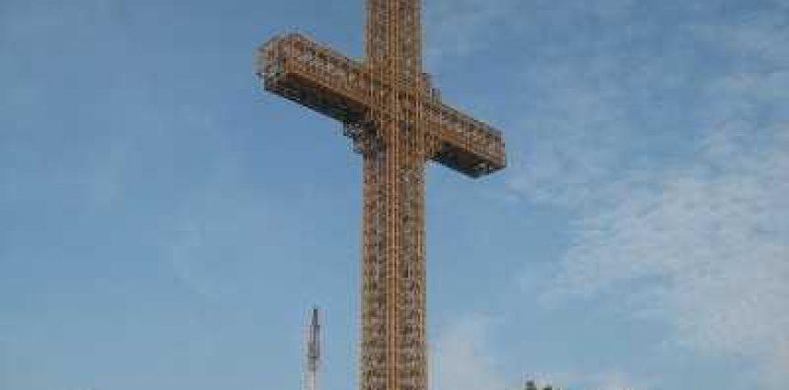 Edhe një kryq gjigand në Shkup