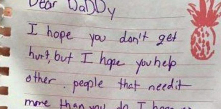 Letra prekëse për babin shpëtimtar: Mos u lëndo, ndihmo njerëzit në nevojë