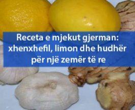 Receta e mjekut gjerman: xhenxhefil, limon dhe hudhër për një zemër të re