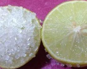 Limon dhe xhel aloe vera për një lëkurë pa rrudha