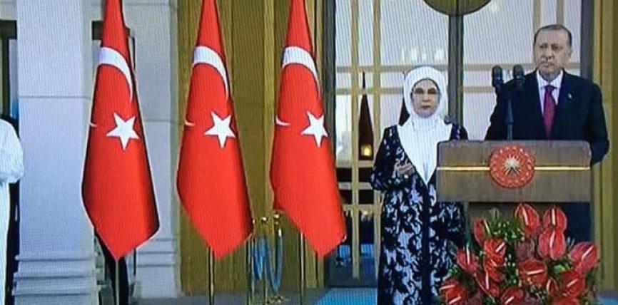 Lutja e presidentit te Turqise per tere njerezimin