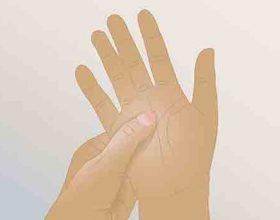 Menyre e thjeshte per largimin e dhimbjeve duke masazhuar duart