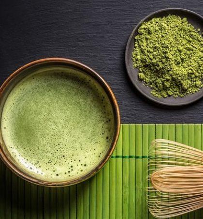 Çaj i gjelbër japonez Matcha (maça)