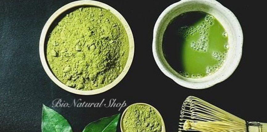 Çaji i gjelbër japonez MATCHA të mirat e të cilit janë të pafundme