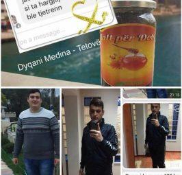 Para dhe pas , perdorimit të Mjaltës për Dobësim, Sufjani nga Shkupi ka humbur 43 Kilogram