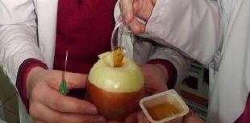 Mjalti dhe qepa ,ilaç i mrekullueshëm