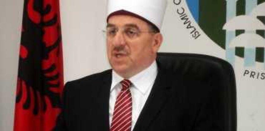 Urimi i Myftiut të Kosovës Mr. Naim Tërnava me rastin e Kurban – Bajramit