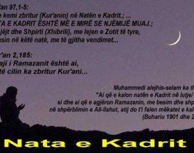 Ramazani dhe nata e Kadrit