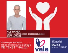 Gazetari i njohur, Halil Halili, ka nevojë për ndihmën tuaj për shërim