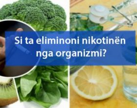Si ta eliminoni nikotinën nga organizmi?