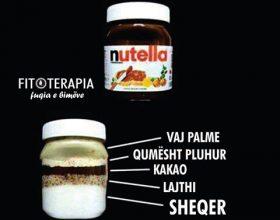 A e keni menduar ndonjëherë se çka mund të përmbajë Nutella e fabrikuar?