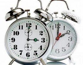 Të shtunën ndërrohet ora një orë prapa