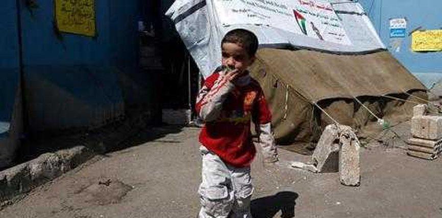 Organizatat e ndihmes, alarm per gjendjen e refugjateve palestinez