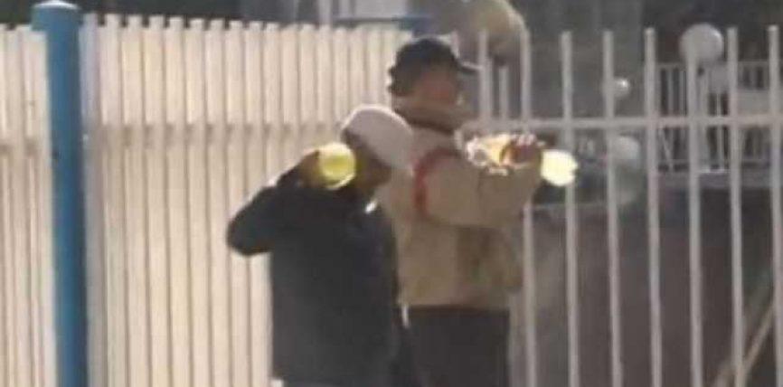 Mbetën pa punë, tentuan të vetëdigjen (Video)