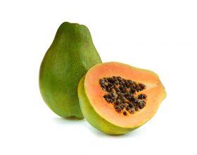 Papaja fruti ekzotik kunder celulitit