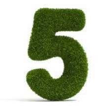 Pesë gjëra njihen nga pesë tjera