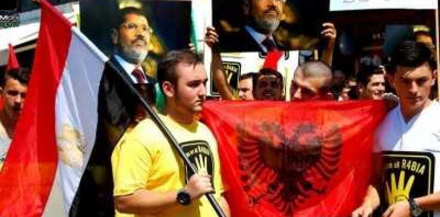 """Mbahet protesta """"Ne jemi R4ABIA!"""" në Shkup"""