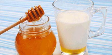 Një gotë me qumësht dhe mjalt në bark të zbrazët ,këshilla profetike