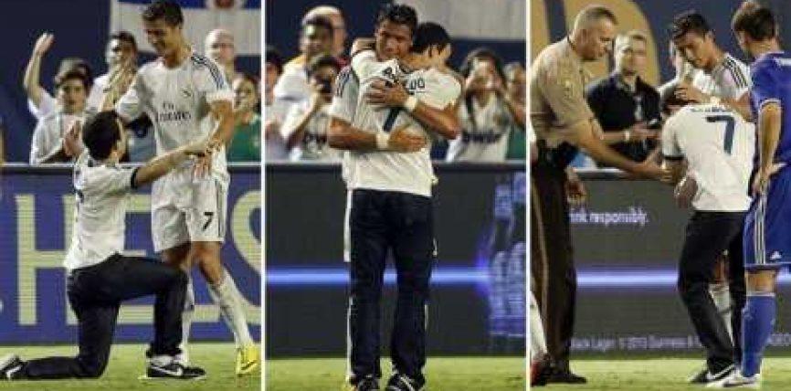 Ronaldo: Lironi nga akuzat djalin shqiptar (Video)