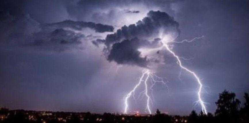 Elektriciteti në atmosferë, rrufeja dhe breshëri