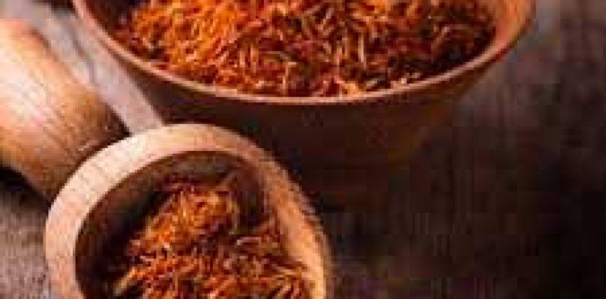 Shafrani me mjaltë për një lëkurë të mrekullueshme