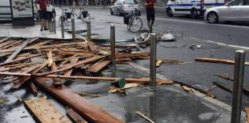 Stuhi shkatërrimtare në Slloveni, moti i lig i afrohet Kroacisë dhe Kosovës