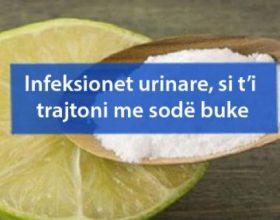 Infeksionet urinare, si t'i trajtoni me sodë buke