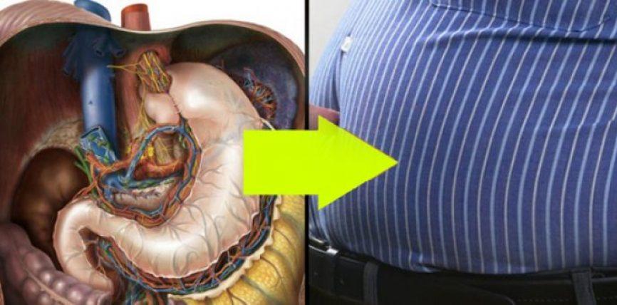 Vjellja pastron stomakun nga substancat e dëmshme