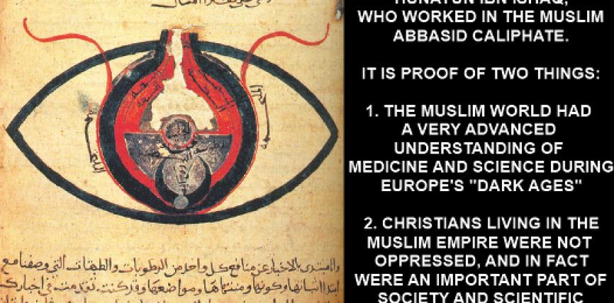 Ky është diagrami i syrit i ilustruar në vitet e '800 nga një shkenctarë i krishterë