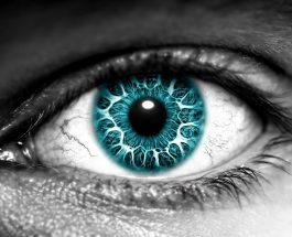 Mësysh që shkaktohet nga syri njerëzor