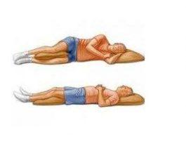 Një studim konfirmon dobitë e fjetjes në krahun e djathtë