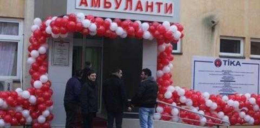 TIKA hap klinikën pediatrike në Maqedoni