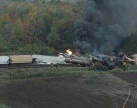 SHBA, aksidentohet treni me lëndë toksike