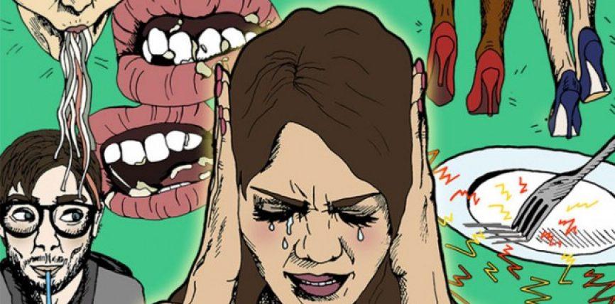 Të ndjeshëm ndaj zhurmave kur dikush ha? Nga çka vuani ?