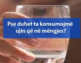 Pse duhet ta konsumojmë ujin që në mëngjes?