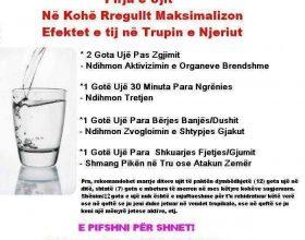 Konsumoni uje natyral – (foto porosi )…
