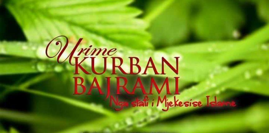 Mjekësia Islame ju uron Kurban Bajramin!