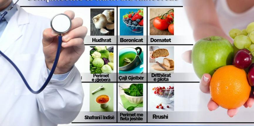 Ushqimet më të mira anti-kanceroze !?