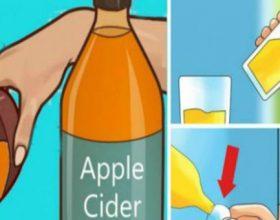 5 arsyet pse duhet të pini një lugë çaj uthull molle para se të flini gjumë