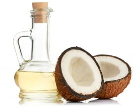 Maske hidratuese per floket me vaj kokosi