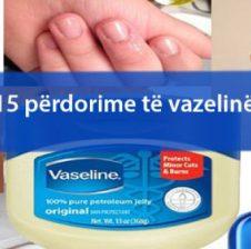15 përdorime të vazelinës