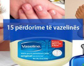 8 mënyra të mrekullueshme të përdorimit të vaselinës