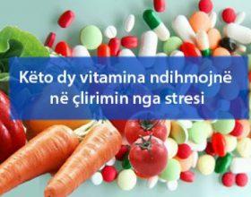 Këto dy vitamina ndihmojnë në çlirimin nga stresi