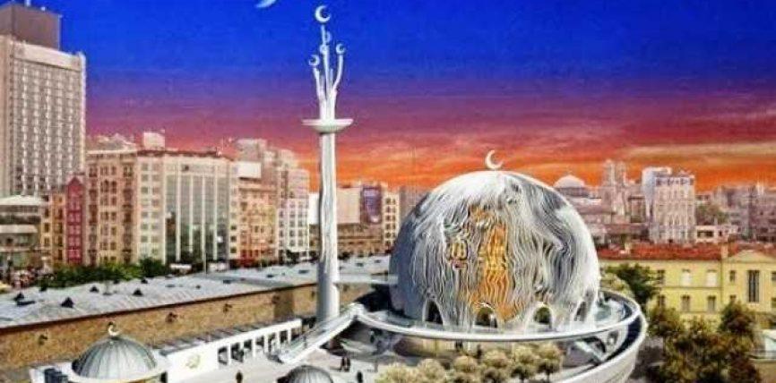 Erdogan do të ndërtojë xhami në sheshin Taksim, ja si do duket (FOTO)