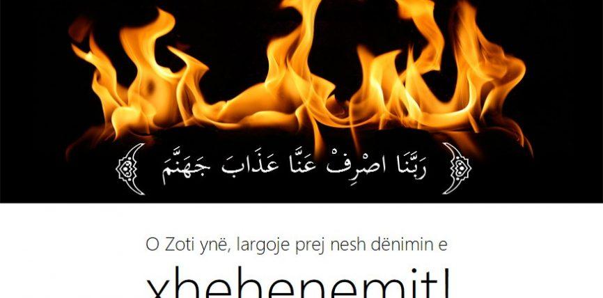 Njerëzit hyjnë në zjarr të Xhehenemit për shkak të tri dyerve