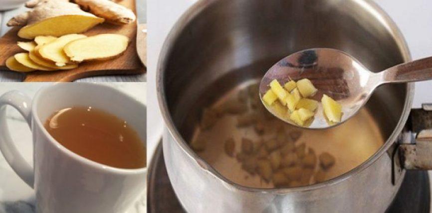 Ja 5 arsyet pse DUHET të pini çaj xhenxhefili çdo ditë